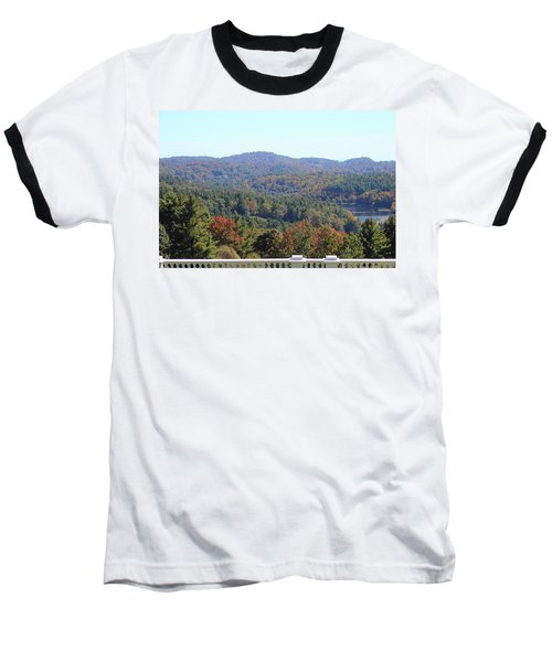 View From Moses Cone 2014c Baseball T-Shirt