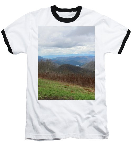 View From Silers Bald 2015c Baseball T-Shirt