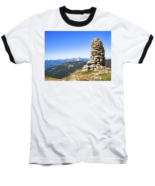 View Of The Apuan Alps Baseball T-Shirt