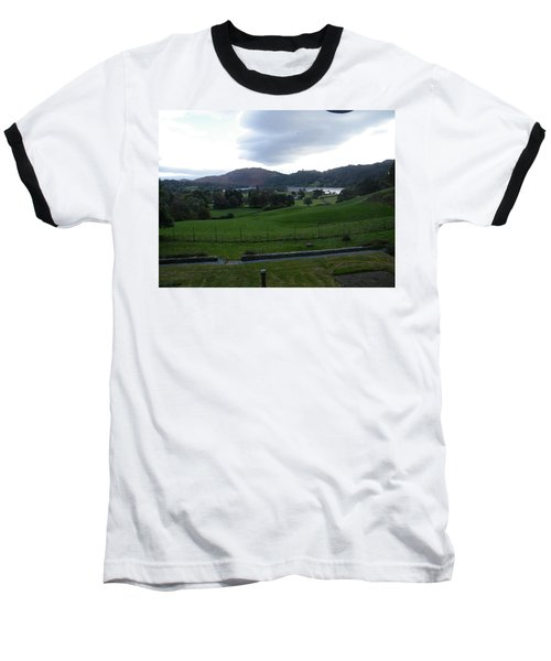 View Of The Lakes Baseball T-Shirt