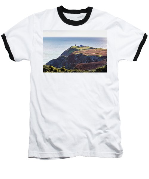 View Of The Trails On Howth Cliffs And Howth Head In Ireland Baseball T-Shirt by Semmick Photo