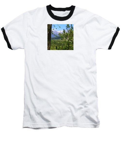 Baseball T-Shirt featuring the photograph Views Of Katahdin by Robin Regan