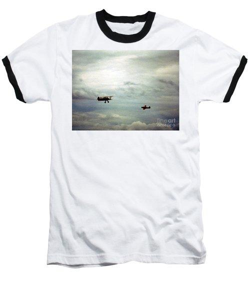 Vintage Airplanes Baseball T-Shirt