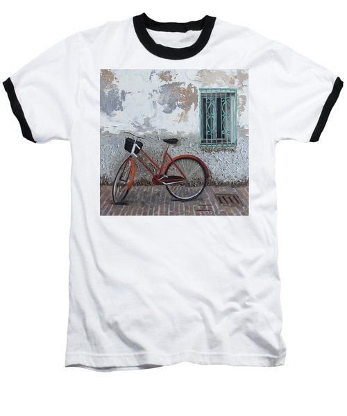 Vintage Series #3 Bike Baseball T-Shirt