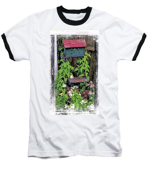 Vintage Bird House Baseball T-Shirt