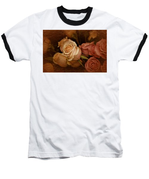 Baseball T-Shirt featuring the photograph Vintage Roses March 2017 by Richard Cummings