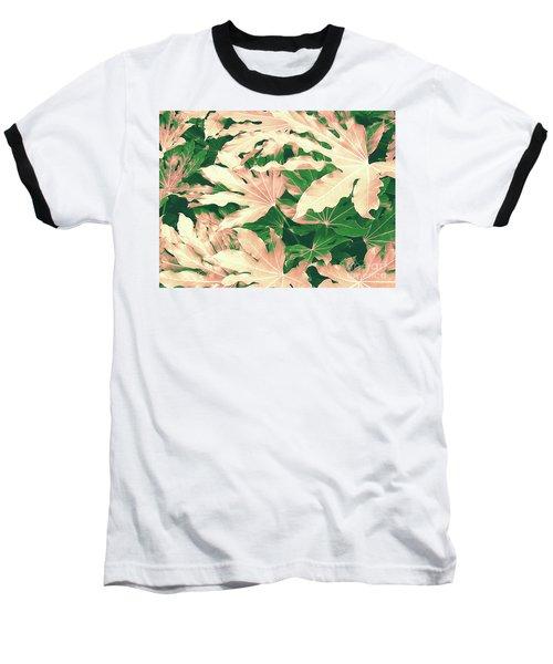Baseball T-Shirt featuring the photograph Vintage Season Pink by Rebecca Harman