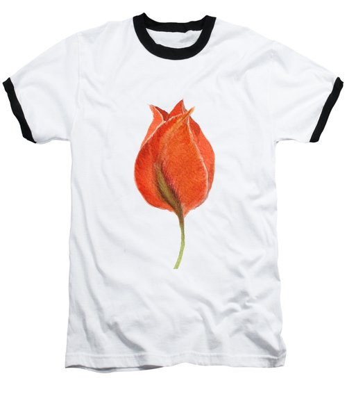 Vintage Tulip Watercolor Phone Case Baseball T-Shirt