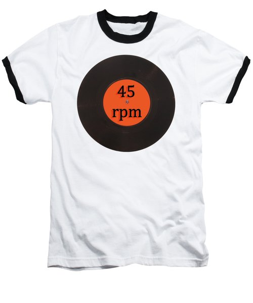 Vinyl Record Vintage 45 Rpm Single Baseball T-Shirt by Tom Conway