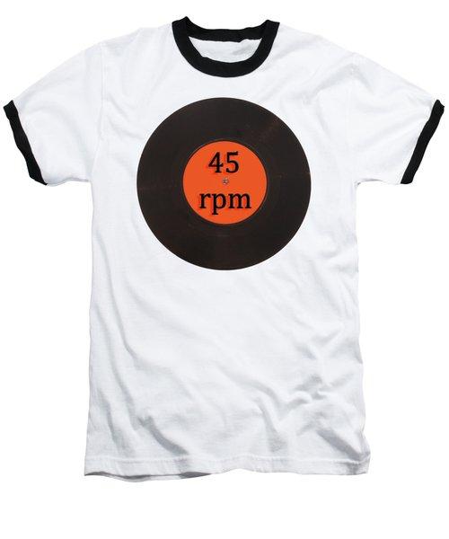 Vinyl Record Vintage 45 Rpm Single Baseball T-Shirt