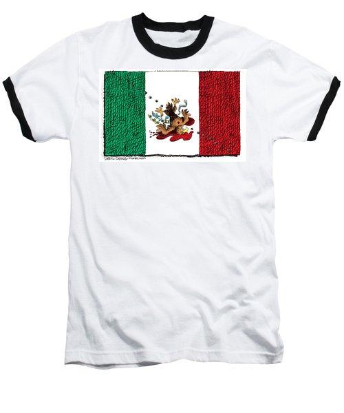 Violence In Mexico Baseball T-Shirt