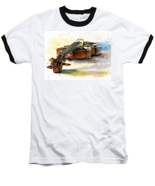 Violin 2 Baseball T-Shirt by John D Benson