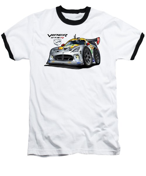 Viper Gts-r Car-toon Baseball T-Shirt