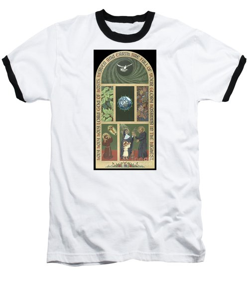 Viriditas - Finding God In All Things Baseball T-Shirt by William Hart McNichols