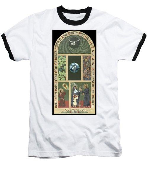 Viriditas - Finding God In All Things Baseball T-Shirt