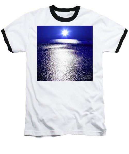 Virtual Sea Baseball T-Shirt