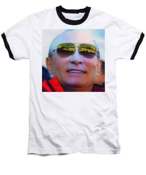 Vladimir Putin Baseball T-Shirt