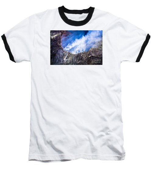 Baseball T-Shirt featuring the photograph Volcano by M G Whittingham