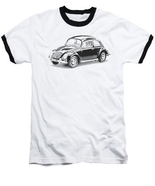 Volkswagen 1949 - Parallel Hatching Baseball T-Shirt