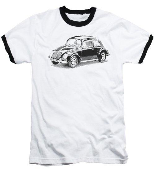 Volkswagen 1949 - Parallel Hatching Baseball T-Shirt