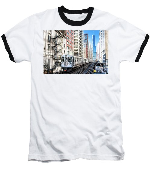 The Wabash L Train Baseball T-Shirt