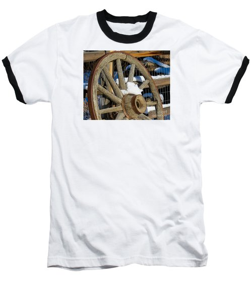 Wagon Wheel 1 Baseball T-Shirt
