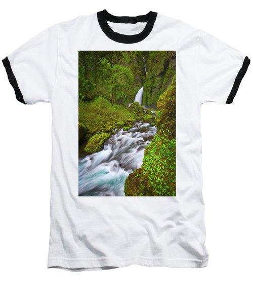 Baseball T-Shirt featuring the photograph Wahclella Falls by Darren White