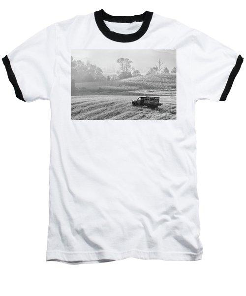 Waiting For A Load Baseball T-Shirt by Nicki McManus