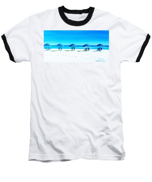 Waiting For The Beach Sitters Baseball T-Shirt
