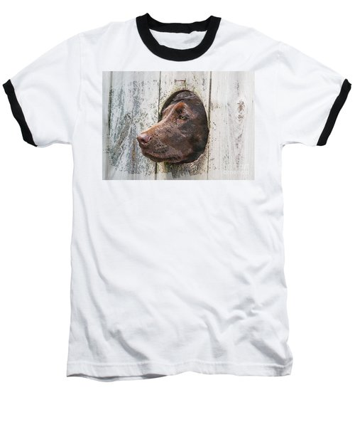 Baseball T-Shirt featuring the photograph Waiting On Master by Robert Pearson