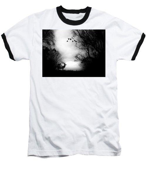 Waking From Winters Sleep Baseball T-Shirt