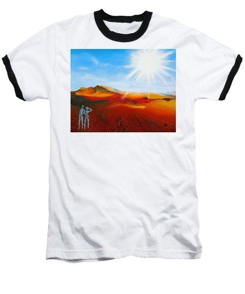 Walk A Mile Baseball T-Shirt