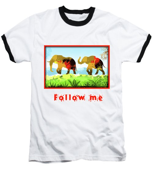 Walk With Me Baseball T-Shirt