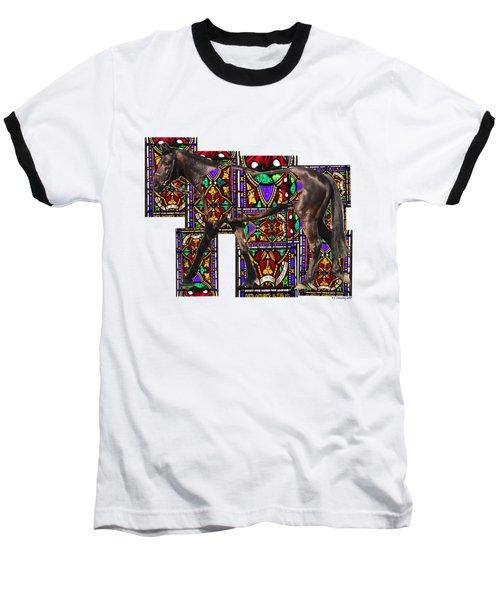Walking Horse Baseball T-Shirt