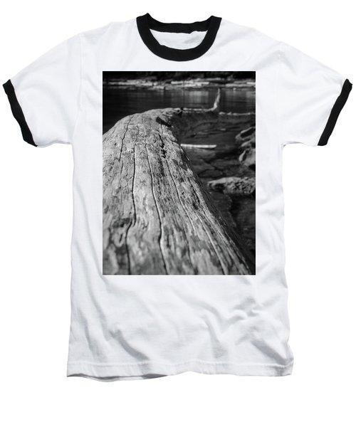 Walking On A Log Baseball T-Shirt
