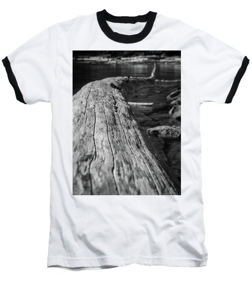 Walking On A Log Baseball T-Shirt