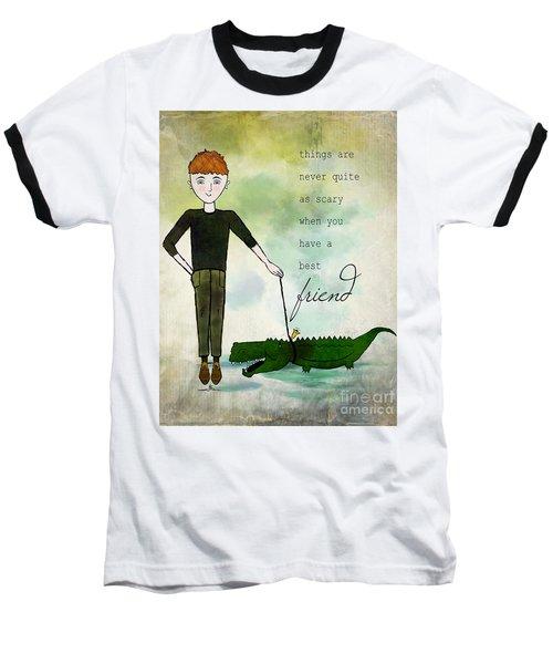 Walking Reginald From Ginkelmier Land Baseball T-Shirt