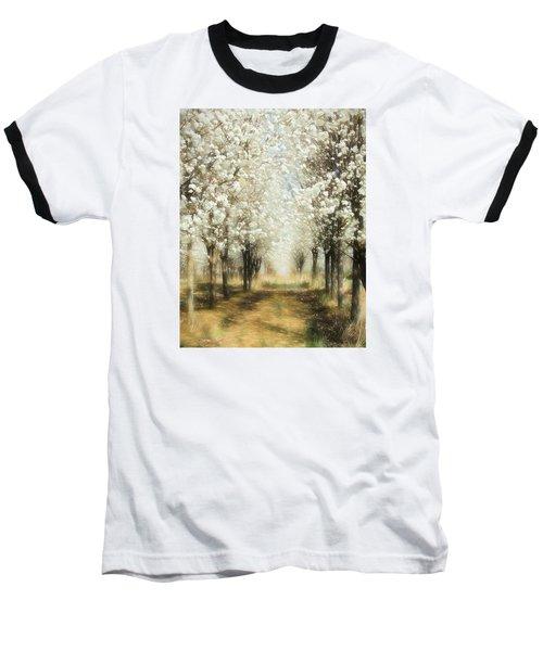 Walking Through A Dream Ap Baseball T-Shirt by Dan Carmichael