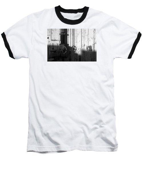Wall Pipe Shadows Baseball T-Shirt