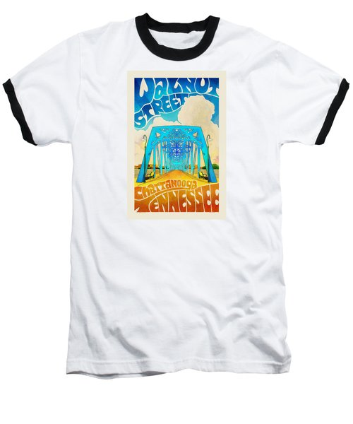 Walnut Street Poster Baseball T-Shirt