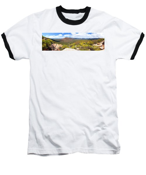 Wangara Hill Flinders Ranges South Australia Baseball T-Shirt by Bill Robinson