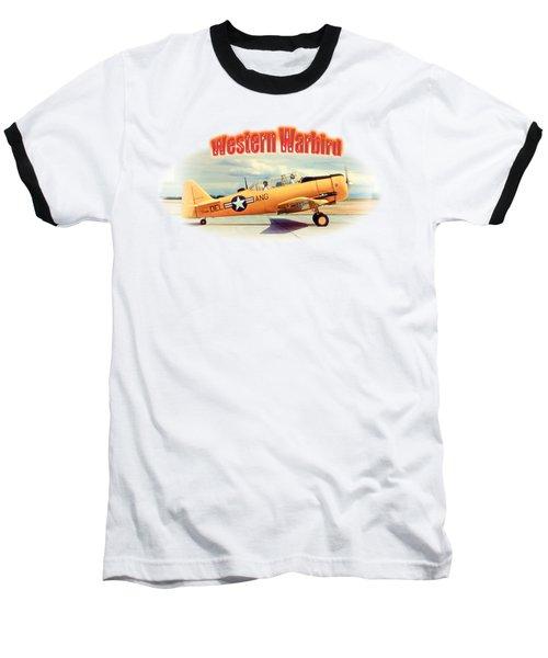 Warbird Touchdown Baseball T-Shirt