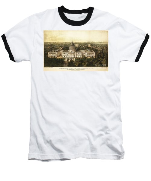 Washington City 1857 Baseball T-Shirt by Jon Neidert