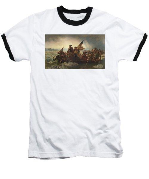 Washington Crossing The Delaware Baseball T-Shirt
