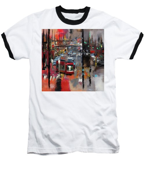 Washington I 471 1 Baseball T-Shirt by Mawra Tahreem