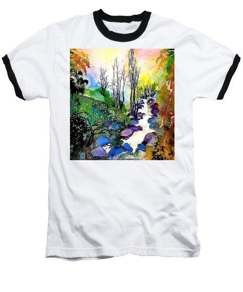 Water And Air Baseball T-Shirt