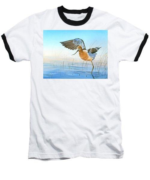 Water Ballet Baseball T-Shirt