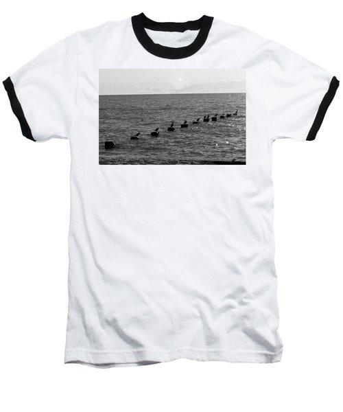Water Birds Baseball T-Shirt