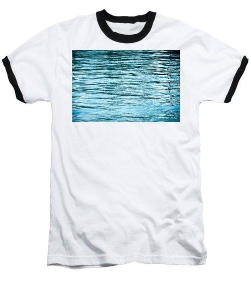 Water Flow Baseball T-Shirt by Steve Gadomski