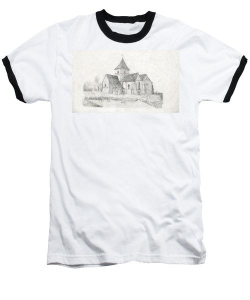 Water Inlet Near Church Baseball T-Shirt